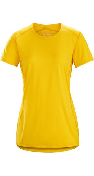 Arc'teryx Phase SL t-shirt Dames geel